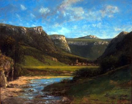 Landscape in the Jura