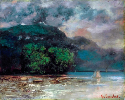 Lac Léman avant La Tempête 1974