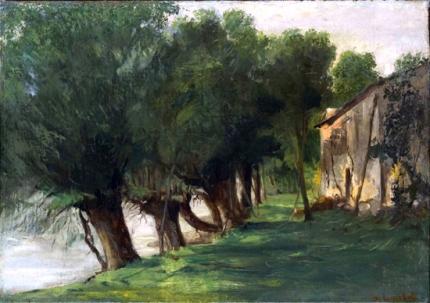 La Charente À Port-Berteau 1862