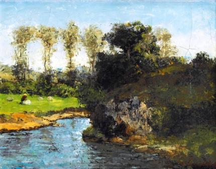 Landscape of Saintonge
