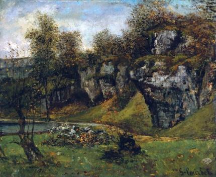 Cliffs of Gruyere, Switzerland