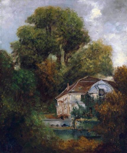 Le Château De Beaulieu; Près De Lausanne 1875