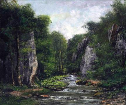 Le Ruisseau De Plaisir-Fontaine 1865
