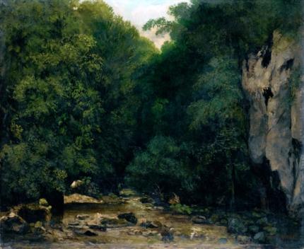 Le Ruisseau De Plaisir-Fontaine, Dans La Vallee Du Puits Noir