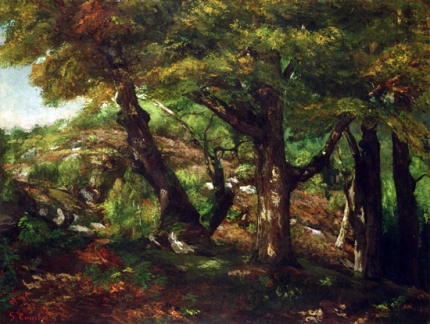 The Fringe of the Forest 1856