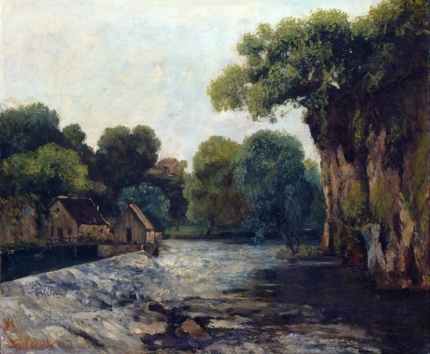 The Weir at the Mill 1866