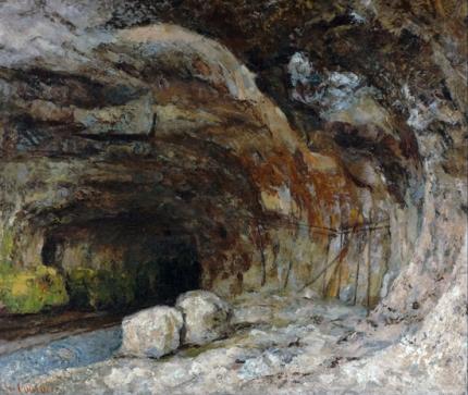 Grotto of Sarrazine Near Nans-Sous-Sainte-Anne