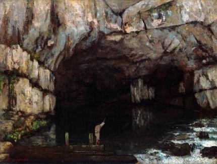 La Grotte De La Loue 1864