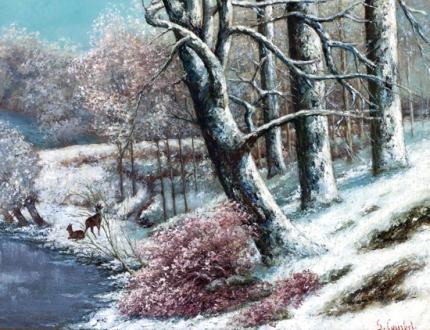 La Forêt En Hiver