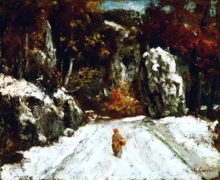 Winter in the Jura 1875