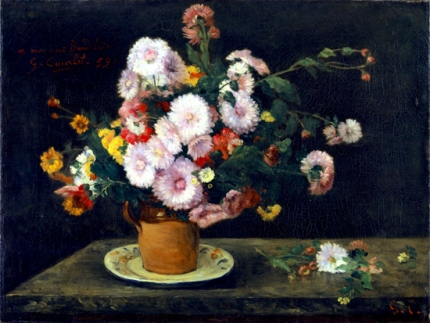 Bouquet D'asters 1859