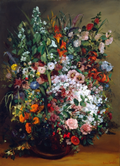 Bouquet of Flowers in a Vase 1862