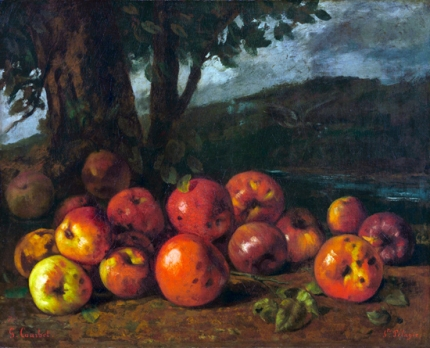 Still Life with apples, 1872