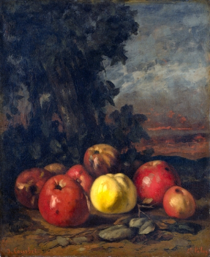 Still Life with apples 1872