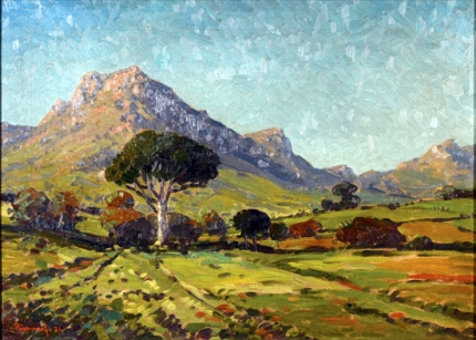 Stellenbosch Mountain Landscape, 1921