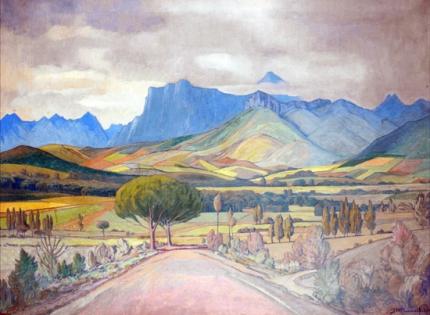 Landscape, Stellenbosch, 1937