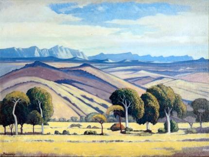 Drakensberg Vanaf Bosberaad