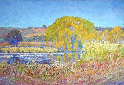 Wilgerboom, Rooiplaatplaas, Noord-Transvaal - Sonopkoms, 1925