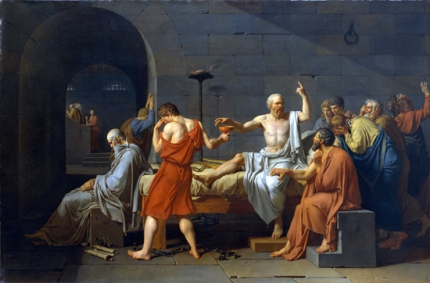 The Death of Socrates 1787