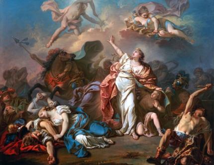 Apollo and Diana Attacking the Children of Niobe 1772