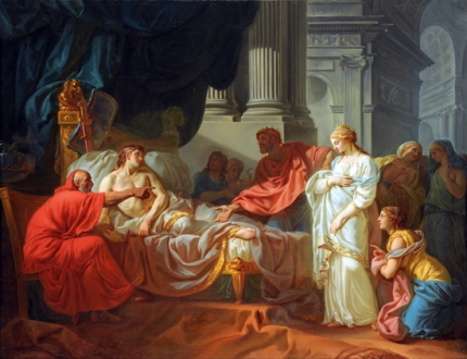 Erasistratus Discovers the Cause of Antiochus's Disease, 1774
