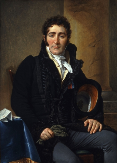 Portrait of the Comte de Turenne 1816