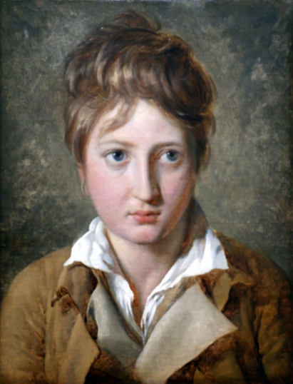 Portrait of a young boy 1786