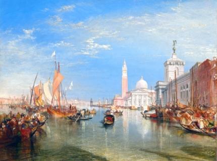 Venice- The Dogana and San Giorgio Maggiore, 1834