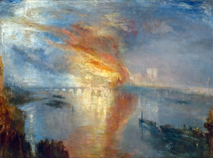 The Burning of the Houses of Lords and Commons 1835