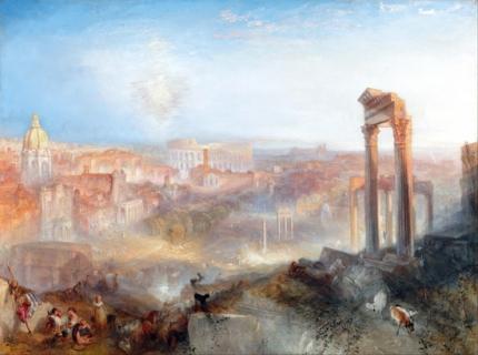 Modern Rome - Campo Vaccino 1839