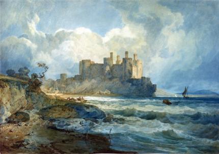 Conway Castle, North Wales 1798