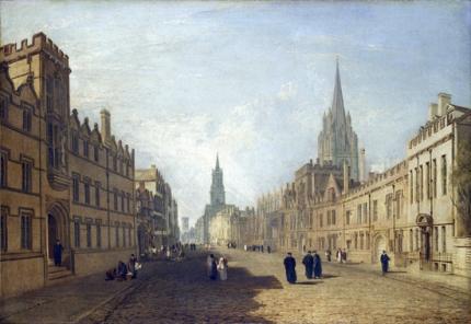 High Street, Oxford 1810