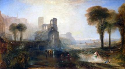 Caligula's Palace and Bridge 1831