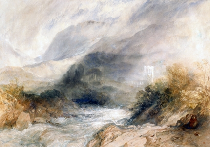 Llanthony Abbey, Monmouthshire 1834