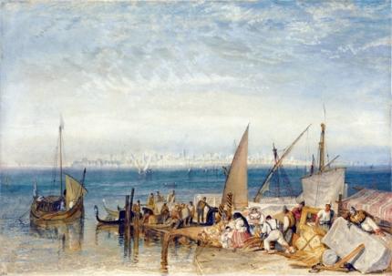 Venice from Fusina 1821