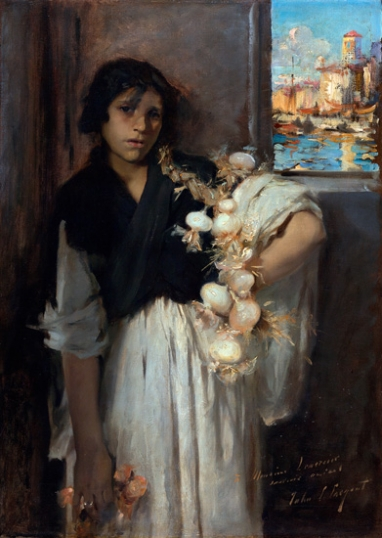 Venetian onion Seller