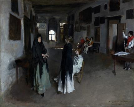 A Venetian Interior 1880