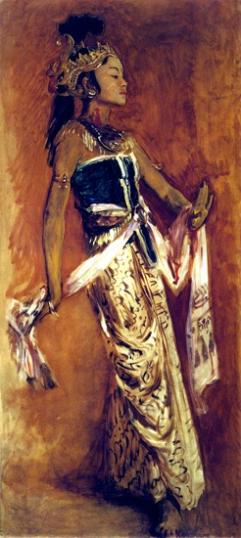 A Javanese Dancer 1889-4