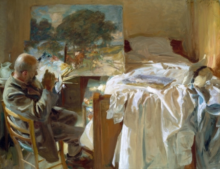 An artist In His Studio 1904