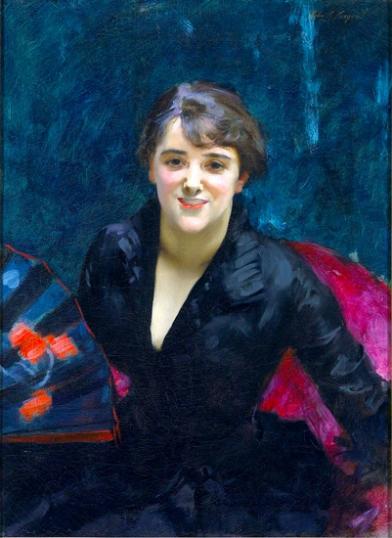 The Lady In Black (Madame Errázuriz) 1882