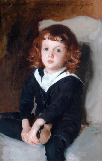 Portrait of Laurence Millet 1887