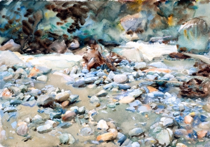 Bed of a Torrent 1904