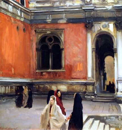 Campo Behind the Scuola Di San Rocco