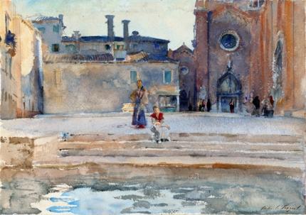 Campo Dei Frari, Venice 1880