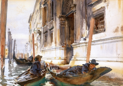 Gondoliers' Siesta 1904