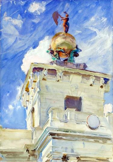 Venice-La Dogana 1909