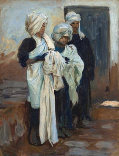Egyptian Indigo Dyers 1891