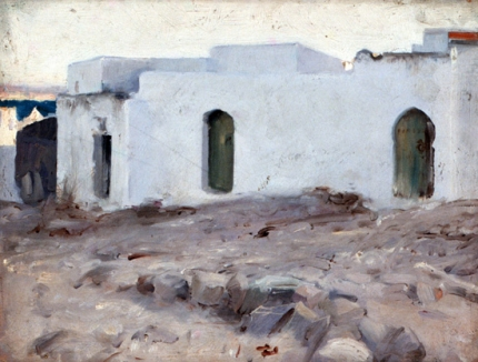 Moorish Buildings on a Cloudy Day 1879