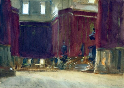 Cordova-Interior of the Cathedral 1903
