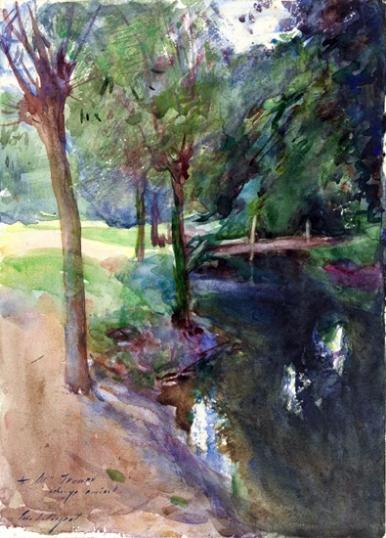 The Shadowed Stream 1883